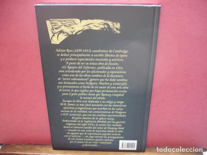 Libros de segunda mano: El Agujero del Infierno. Adrian Ross. Editorial Valdemar, 1997. - Foto 3 - 208347487