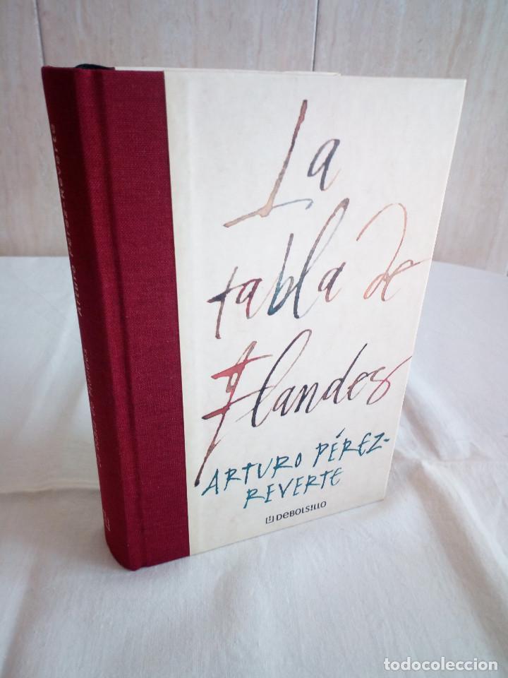 562-LA TABLA DE FLANDES, ARTURO PEREZ REVERTE, 2000 (Libros de segunda mano (posteriores a 1936) - Literatura - Narrativa - Terror, Misterio y Policíaco)