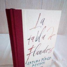 Libros de segunda mano: 562-LA TABLA DE FLANDES, ARTURO PEREZ REVERTE, 2000. Lote 208424532
