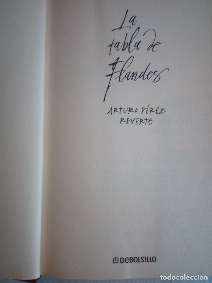 Libros de segunda mano: 562-LA TABLA DE FLANDES, Arturo Perez Reverte, 2000 - Foto 3 - 208424532