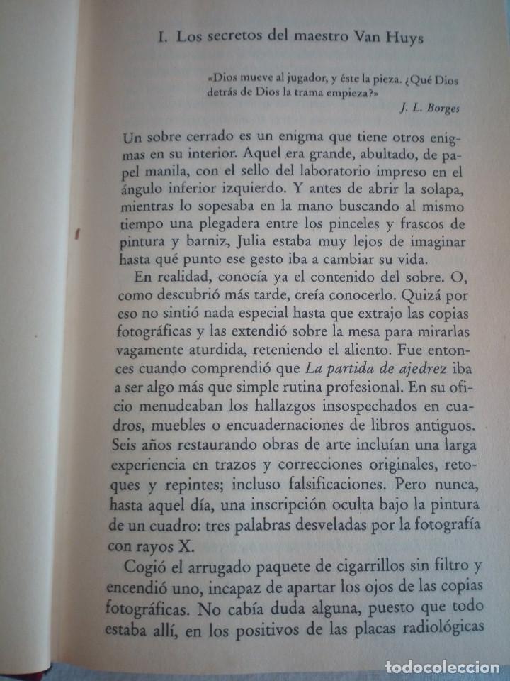 Libros de segunda mano: 562-LA TABLA DE FLANDES, Arturo Perez Reverte, 2000 - Foto 5 - 208424532
