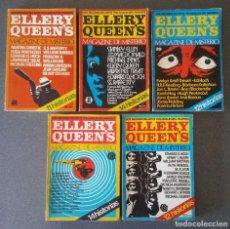 Libros de segunda mano: LOTE LIBROS ELLERY QUEEN S MAGAZINE DE MISTERIO. Lote 209053522