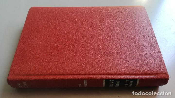 Libros de segunda mano: POEMAS SATIRICOS - FRANCISCO DE QUEVEDO - MARTE EDICIONES -ILUSTRA GOÑI - EDICION NUMERADA - Z603 - Foto 2 - 209617521