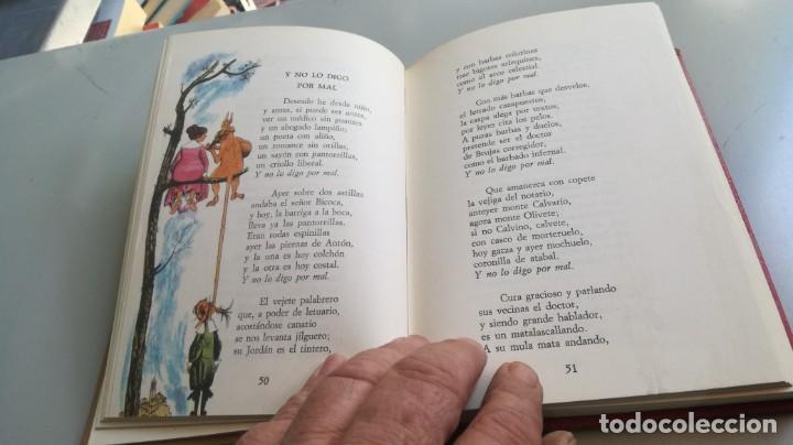 Libros de segunda mano: POEMAS SATIRICOS - FRANCISCO DE QUEVEDO - MARTE EDICIONES -ILUSTRA GOÑI - EDICION NUMERADA - Z603 - Foto 11 - 209617521