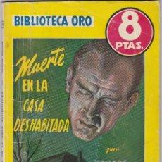 Libros de segunda mano: MUERTE EN LA CASA DESHABITADA DE HONORE HOWARD. Lote 209953195