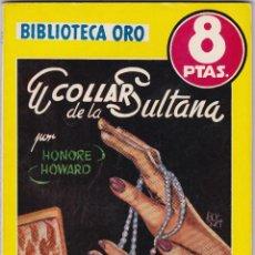Libros de segunda mano: EL COLLAR DE LA SULTANA DE HONORE HOWARD. Lote 209953340