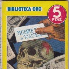 Libros de segunda mano: MUERTE DEL AGENTE DE PUBLICIDAD DE DOROTHY L. SAYERS. Lote 209953458