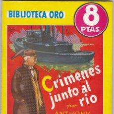 Libros de segunda mano: CRIMENES JUNTO AL RIO DE ANTHONY WEBB. Lote 209953630