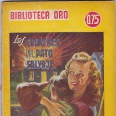 Libros de segunda mano: LOS CRIMENES DEL PATO SALVAJE DE THEODORA DU BOIS. Lote 209954362