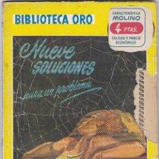 Libros de segunda mano: NUEVE SOLUCIONES PARA UN PROBLEMA DE J. J. CONNINGTON. Lote 209955018