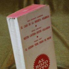 Libros de segunda mano: SERIE AL ROJO VIVO,EDICIONES G.P.,1964.. Lote 210752095