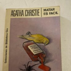 Libros de segunda mano: MATAR ES FÁCIL. AGATHA CHRISTIE. ED. MOLINO. Lote 211440669
