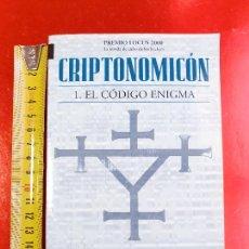 Libros de segunda mano: LIBRO-CRPTONOMICÓN-1.EL CÓDIGO ENIGMA-NEAL STEPHENSON-EDICIONES B S,A,.1ªED.2004. Lote 212317653