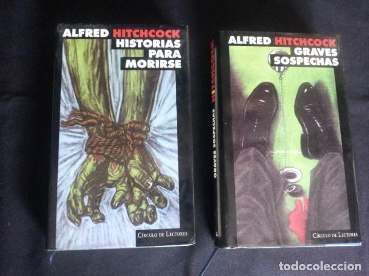 Libros de segunda mano: ALFRED HITCHCOCK - COLECCION COMPLETA 12 LIBROS - CIRCULO DE LECTORES - Foto 6 - 212712963