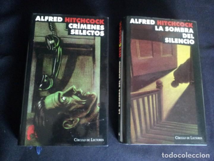 Libros de segunda mano: ALFRED HITCHCOCK - COLECCION COMPLETA 12 LIBROS - CIRCULO DE LECTORES - Foto 9 - 212712963
