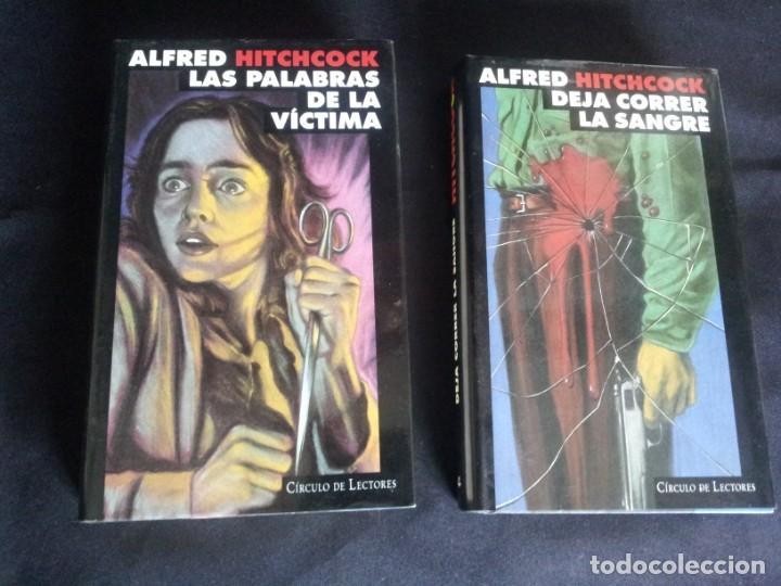 Libros de segunda mano: ALFRED HITCHCOCK - COLECCION COMPLETA 12 LIBROS - CIRCULO DE LECTORES - Foto 16 - 212712963