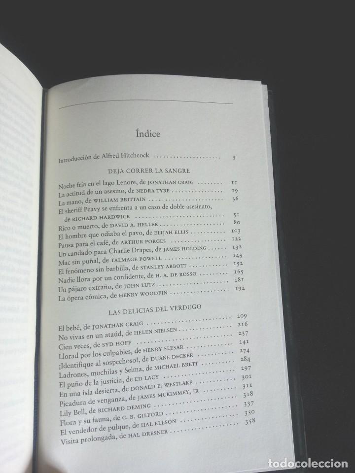 Libros de segunda mano: ALFRED HITCHCOCK - COLECCION COMPLETA 12 LIBROS - CIRCULO DE LECTORES - Foto 18 - 212712963