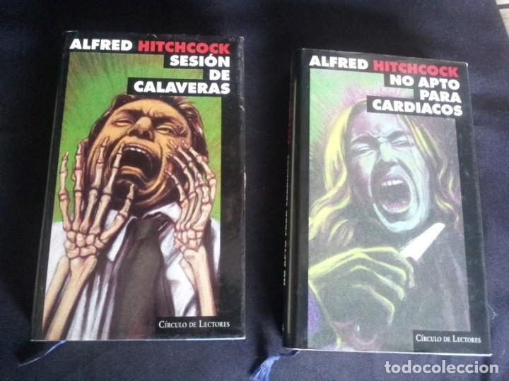 Libros de segunda mano: ALFRED HITCHCOCK - COLECCION COMPLETA 12 LIBROS - CIRCULO DE LECTORES - Foto 19 - 212712963