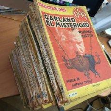 Libros de segunda mano: BIBLIOTECA ORO SERIE AMARILLA LOTE 49 EJEMPLARES. EDITORIAL MOLINO (HAB). Lote 213346733