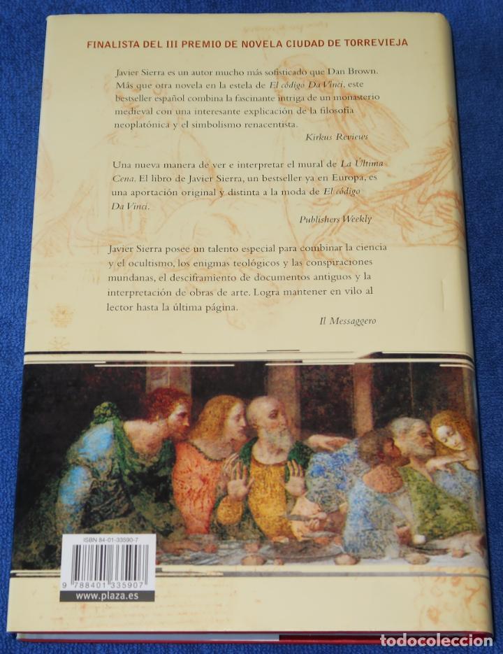 Libros de segunda mano: La cena secreta - Javier Sierra - Plaza & Janés (2006) - Foto 4 - 213761591