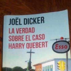 Libros de segunda mano: LA VERDAD SOBRE EL CASO HARRY QUEBERT, JOËL DICKER. Lote 214531210