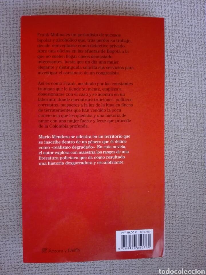 Libros de segunda mano: Lady Masacre Mario Mendoza - Foto 2 - 214897327