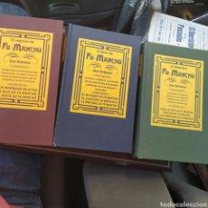 Libros de segunda mano: FU- MANCHÚ 3TOMOS SERIE COMPLETA SAX ROHMER. Lote 214909242