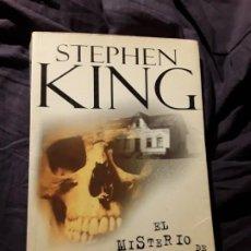 Libros de segunda mano: EL MISTERIO DE SALEM'S LOT, DE STEPHEN KING. PRIMERA EDICIÓN CON ESTA PORTADA. P&J, 2004 TAPA BLAND. Lote 214938415