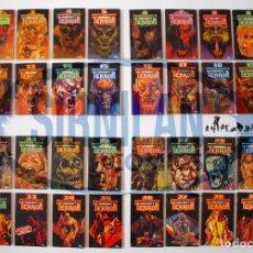 Libros de segunda mano: BIBLIOTECA UNIVERSAL DE MISTERIO Y TERROR - 40 LIBROS COLECCIÓN COMPLETA - EDICIONES UVE - BE. Lote 215224313