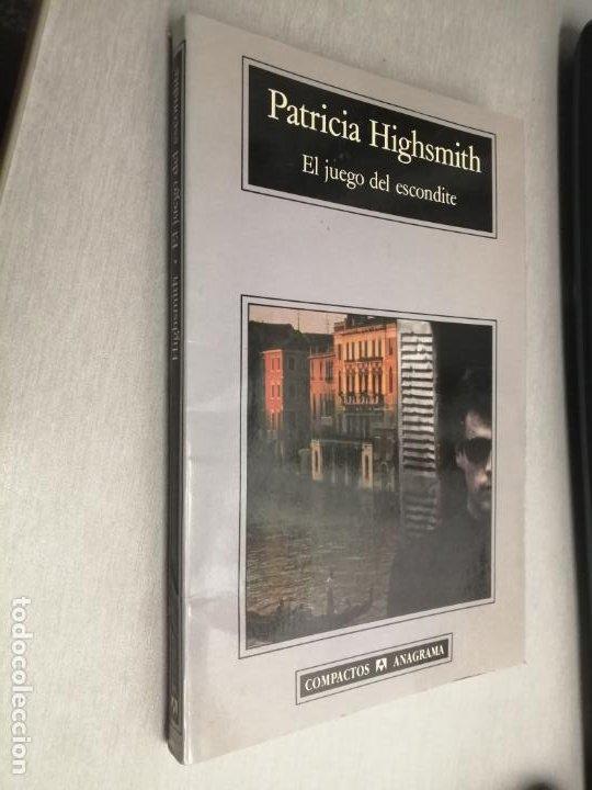 EL JUEGO DEL ESCONDITE / PATRICIA HIGHSMITH / COMPACTOS ANAGRAMA 1997 (Libros de segunda mano (posteriores a 1936) - Literatura - Narrativa - Terror, Misterio y Policíaco)