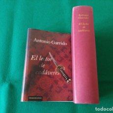 Libros de segunda mano: EL LECTOR DE CADÁVERES - ANTONIO GARRIDO - CIRCULO DE LECTORES - AÑO 2011. Lote 215487606
