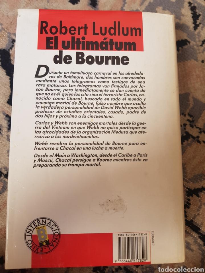 Libros de segunda mano: El ultimátum de Bourne de Robert Ludlum - Foto 2 - 215493801