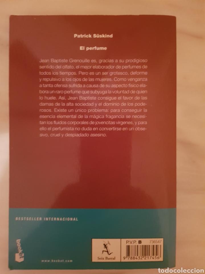 Libros de segunda mano: El perfume. Historia de un asesino de Patrick Süskind - Foto 2 - 216819568