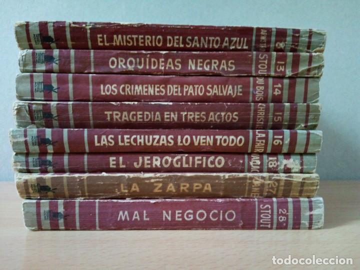 Libros de segunda mano: LOTE DE 15 NOVELAS BIBLIOTECA DE ORO DE BOLSILLO DE 1950 A 1956 - Foto 2 - 216877102