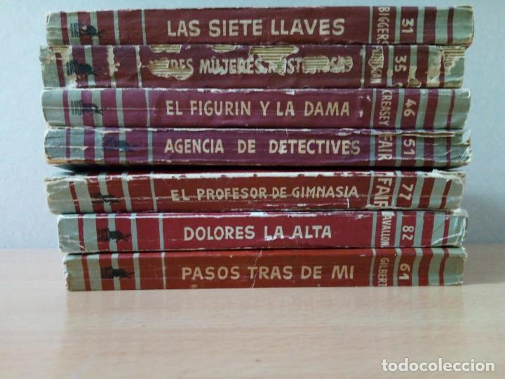 Libros de segunda mano: LOTE DE 15 NOVELAS BIBLIOTECA DE ORO DE BOLSILLO DE 1950 A 1956 - Foto 11 - 216877102