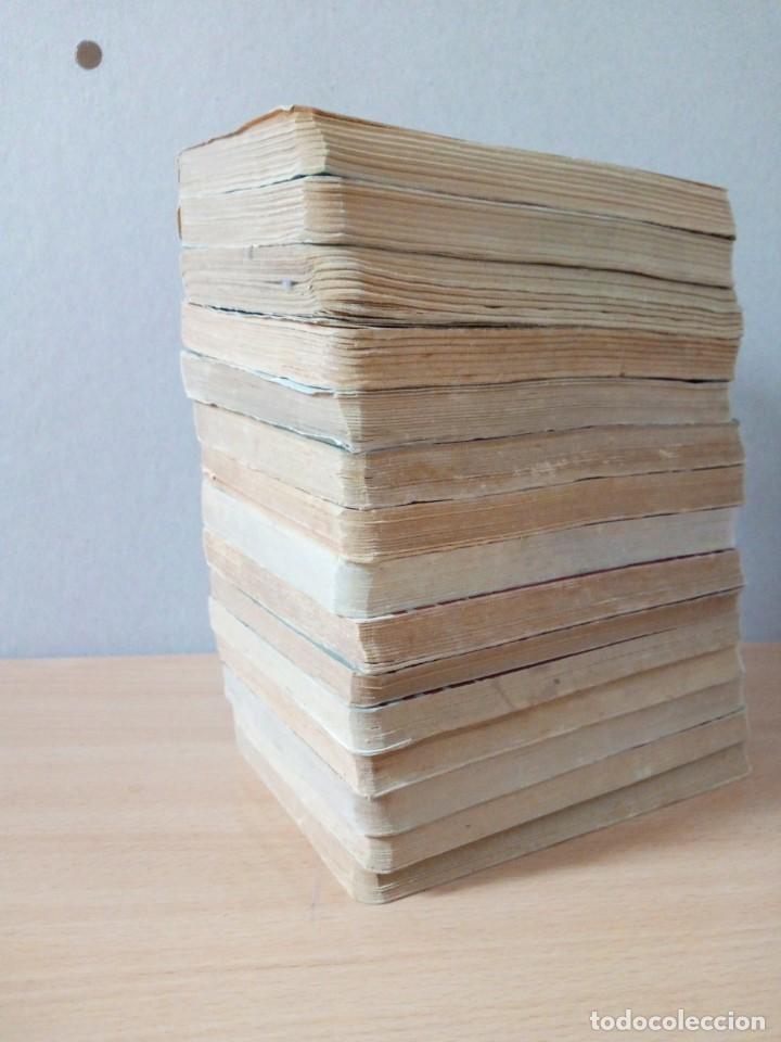 Libros de segunda mano: LOTE DE 15 NOVELAS BIBLIOTECA DE ORO DE BOLSILLO DE 1950 A 1956 - Foto 19 - 216877102