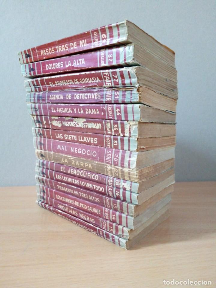 Libros de segunda mano: LOTE DE 15 NOVELAS BIBLIOTECA DE ORO DE BOLSILLO DE 1950 A 1956 - Foto 20 - 216877102