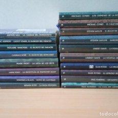 Libros de segunda mano: COLECCION DE 18 TOMOS DETECTIVES EN LA HISTORIA.NUEVOS. Lote 216896698