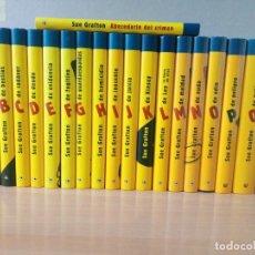 Libros de segunda mano: LOTE DE 18 LIBROS DE LA COLECCION DE LA A A LA Z.SUE GRAFTON.NUEVOS. Lote 216899771