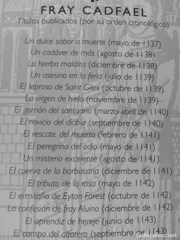 Libros de segunda mano: LOTE DE 17 LIBROS DE EL MONJE DETECTIVE DE ELLIS PETERS - Foto 2 - 216902673