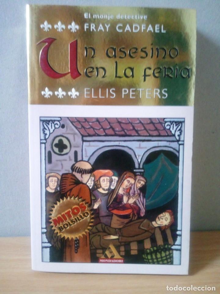 Libros de segunda mano: LOTE DE 17 LIBROS DE EL MONJE DETECTIVE DE ELLIS PETERS - Foto 10 - 216902673