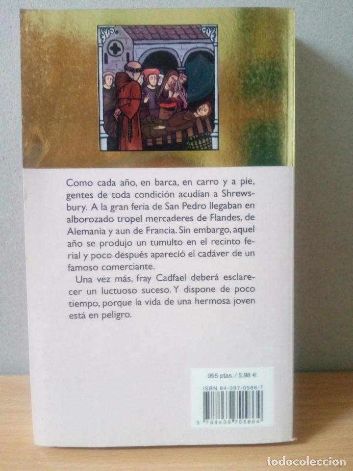 Libros de segunda mano: LOTE DE 17 LIBROS DE EL MONJE DETECTIVE DE ELLIS PETERS - Foto 11 - 216902673
