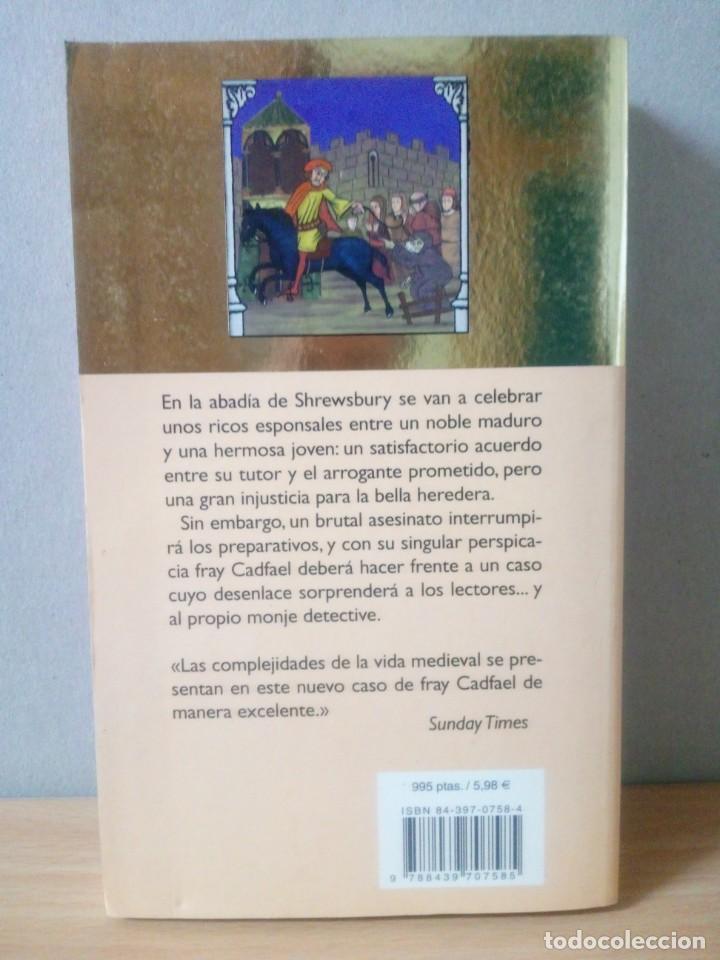 Libros de segunda mano: LOTE DE 17 LIBROS DE EL MONJE DETECTIVE DE ELLIS PETERS - Foto 13 - 216902673