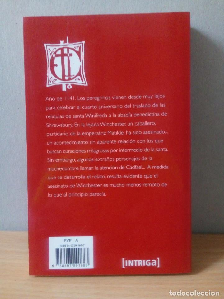 Libros de segunda mano: LOTE DE 17 LIBROS DE EL MONJE DETECTIVE DE ELLIS PETERS - Foto 23 - 216902673