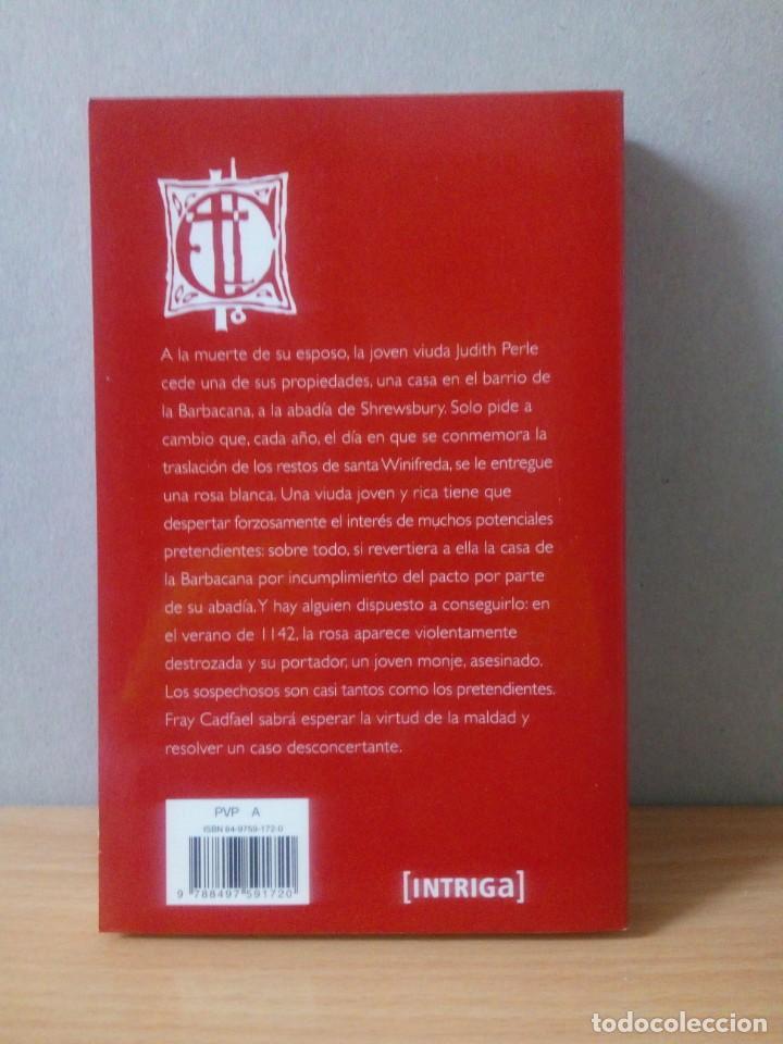 Libros de segunda mano: LOTE DE 17 LIBROS DE EL MONJE DETECTIVE DE ELLIS PETERS - Foto 29 - 216902673