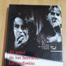 Libros de segunda mano: EL HOTEL DE LOS HORRORES / LA CONFESIÓN DEL PASTOR ANGLICANO (WILKIE COLLINS). Lote 218128780