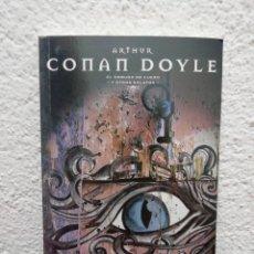 Libros de segunda mano: ARTHUR CONAN DOYLE. EL EMBUDO DE CUERO Y OTROS RELATOS. COLECCIÓN EL PAÍS. MAESTROS DEL TERROR.. Lote 218475778