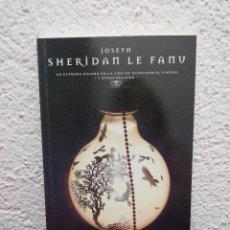 Libros de segunda mano: SHERIDAN LE FANU. UN EXTRAÑO SUCESO EN LA VIDA DE SCHALKEN EL PINTOR. EL PAÍS. MAESTROS DEL TERROR.. Lote 218476746