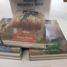Libros de segunda mano: RELATOS MISTERIO Y TERROR - CAJA CON 5 LIBROS - ARM06. Lote 218642605