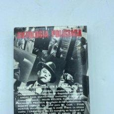 Libros de segunda mano: ANTOLOGIA DE LAS MEJORES NOVELAS POLICIACAS.EDICIONES ACERVO. 6ª SELECCION.BARCELONA,1981. PAGS: 435. Lote 218692635
